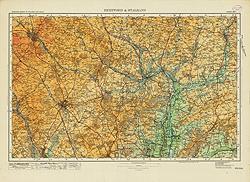 Hertford & St Albans Tourist Map
